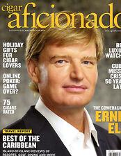 CIGAR AFICIONADO Magazine - DEC 2012 - ERNIE ELS Cover - PGA, Cuba. Watches