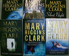 6 HAUNTING THRILLERS by MARY HIGGINS CLARK