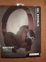 SOL REPUBLIC Master Tracks XC Over-Ear Headphones (Calvin Harris)- Brand New