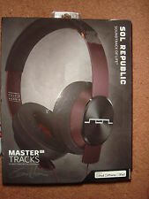 SOL REPUBLIC Master Tracks XC Over-Ear Headphones (Calvin Harris)- Brand New