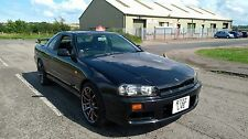 Nissan Skyline R34 GT-T Manual- Fresh Import JDM DRIFT