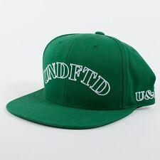 9354d267113db UNDEFEATED x STARTER U   D Ballcap Snapback Hat Green White Cap (H7)