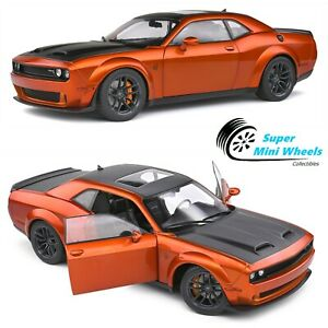 Solido 1:18 2020 Dodge Challenger SRT Hellcat Redeye Widebody Copper (Orange)