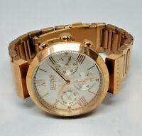 Ladies Hugo Boss Rose Gold Tone Multi Dial Watch HB.285.3.34.2918