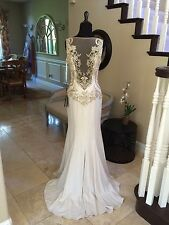 $965 NWT TERANI COUTURE PROM/PAGEANT/FORMAL/WEDDING DRESS/GOWN #151E0446A SIZE 6
