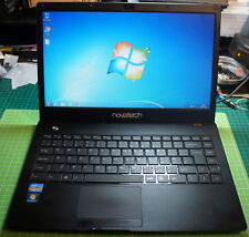 "Novatech X300 i7 3rd Gen 14"" Ultrabook 500GB 8GB Working With Slight Case Damage"