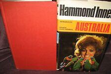 Hammond Innes Introduces Australia. Clive Turnbull editor. HbDj UNread   in MELB