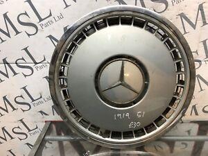 """(AK) Mercedes 16"""" Hub Caps/Wheel Trims W140 SEC SEL SE 1404010024"""