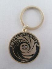 James Bond Celebrating 50 years 007 Keychain Keyring Promo 2012 Skyfall NEW