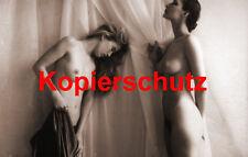 Frau Nackt Akt in Sepia Foto XIV POSTKARTE 10,5 x 14,8 cm (DIN A 6)