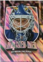 11/12 BETWEEN THE PIPES MASKED MEN 4 SILVER MASK #MM-05 ED BELFOUR LEAFS *48300