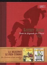 MORRIS. Lucky Luke. La Diligence + Le Pied Tendre. Atlas 2009. Neuf