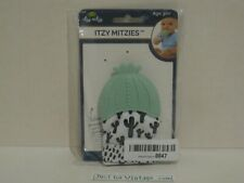 Itzy Ritzy Itzy Mitzies 100% Silicone Cactus Teether Teething Mitten Age 3m+ NEW