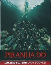 Piranha DD (2012) DVD+Booklet NUOVO Steelbok Limited Edition Danielle Panabaker