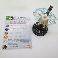 Heroclix Wolverine and the X-Men set Magneto #037b Prime figure w/card!