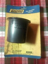 Recessed Mount Black Plastic Drink Holder for Boats - Fits 3 Inch Hole