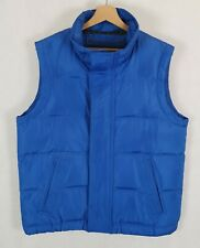 ABERCROMBIE AND FITCH Vest Mens Down-filled Puffer Padded Jacket Men's Size L