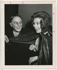 John Zacherle & Ms Tansylvania 1957 Monster Beauty Pageant Sci Fi Convention