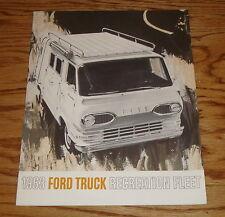 Original 1963 Ford Truck Recreation Fleet Sales Brochure 63