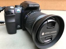 Konica Minolta Dynax 5D, 6.1MP Digital SLR With 18-70mm Lens. Made in Japan.