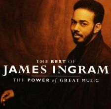 The Greatest Hits: The Power of Great Music by James Ingram (Vocals/Keys) (CD, Sep-1991, Warner Bros.)