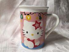 Hello Kitty Christmas Ceramic Coffee Mug Cup Sanrio 2014