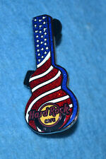 HARD ROCK CAFE 2008 Maui Stars and Stribes Guitar Case Pin # 43899