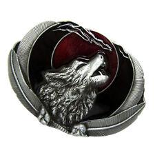 3d1381084f6 Boucle de ceinture de loup hurlant indien amérindien