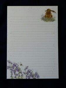 """Gorgeous WRENDALE"""" A5 Lined Jotter pad- """"HAREBELLS"""""""