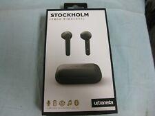 Urbanista True Wireless Stockholm Bluetooth In-Ear Earphones Black Brand New!
