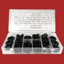 180-tlg. Durchführungsstüllen Sortiment-Box Gummi-Tülle Set Kabel Durchlass Satz