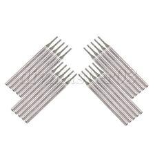 20 x Diamond Drilling Nadel fuer Bowlder Schmuck Gravur 1.2mm Silber