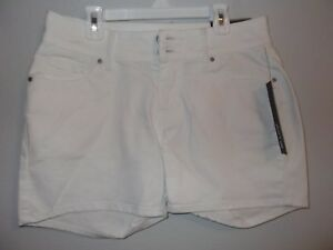 APT 9 - JUNIORS - SHORTS - DENIM - WHITE - SIZE 6     (AC-26-494)