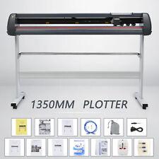 Schneideplotter 1350mm Vinyl Cutter USB Port Schwarz Folienplotter Bild