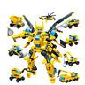 Gudi Bumblebee Roboter Transformator Baustein Bausteine Kinder Spielzeug 643pcs