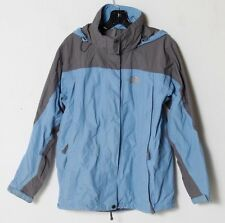 The North Face Hyvent Women's Blue/Gray Skiing Snowboard Shell Jacket Small S