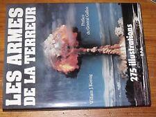 $$$ Livre Les armes de la terreur275 illustrationsWilliam J KoenigGallois