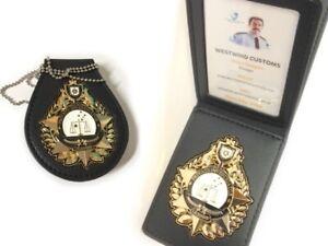 PI Badges 2 x Wallet & Belt Holder -  (NOT POLICE) - COLLECTORS EDITION