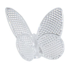 Baccarat Crystal Diamond Pattern Butterfly