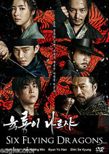 Six Flying Dragons Korean Drama (10DVDs) Excellent English & Quality!