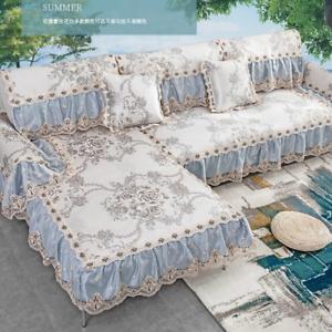 Ice Silk Non-slip Sofa Cushion European-style Sofa Cover Sofa Mat Cushion