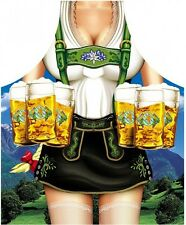 Grillschürze Kochschürze Motiv Bayerische Frau