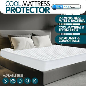 New Luxury Cool Max Comfortable Fully Fitted Bed Mattress Protector