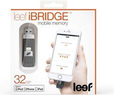 Leef iBridge 32GB Black USB iPhone iPad Memory Apple Lightning NEW Boxed Sealed