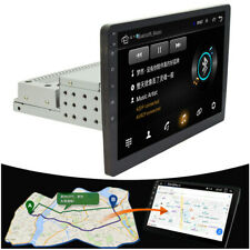 """Car GPS 10.1""""inch 1Din Touch Screen Quad-Core Stereo Radio Player Mirror Link"""