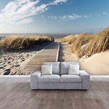 FOTOTAPETE Meer Strand 366 x 254cm Ostsee Nordsee Weg Pfad Dünen Tapete Kleister