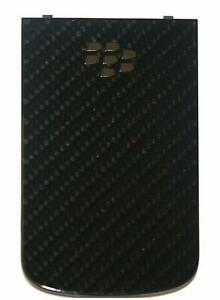 Brand New Genuine Battery Cover for BlackBerry Bold 9900 Black Authentic