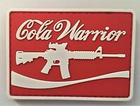 Cola Warrior PVC Patch Hook & Loop ( SEAL Special Forces Infantry) 735