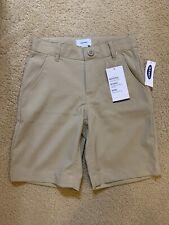 New Boys Old Navy Dry Quick Uniform Tech Shorts Khaki Size: 6
