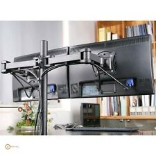 2 Computer Monitor Desk Mounts eBay